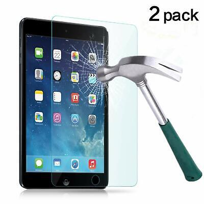 2PACK Tempered Glass Screen Protector for iPad 2 3 4 5th 6th Pro Air Mini iPhone