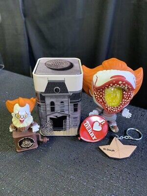Funko Pop Pennywise Collectors Box It 2 Deadlights *Hot Topic Exclusive* IN HAND