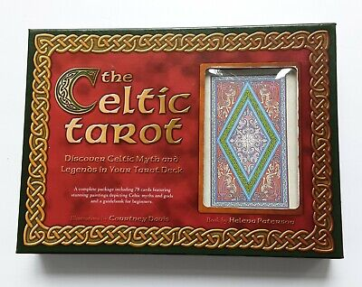 The Celtic Tarot Boxed Set 78 Card Deck and Book Courtney Davis Helena Paterson