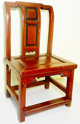 Antique Chinese Ming Children Chair (2715), Zelkova Wood, Circa 1800-1849