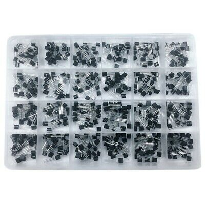 To-92 Transistor Assorted Kit 24Value 480Pcs Transistors Box Pack S9012 Z9P4