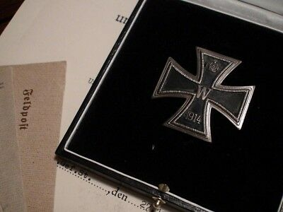 WW1 WWI Imperial German Prussian Officer Grand Knights Iron Cross FIRST CLASS