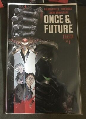 ONCE AND FUTURE #1 1st Print Hot New Comic Kieron Gillen🔥🔥🔥🔥🔥Boom Studios!