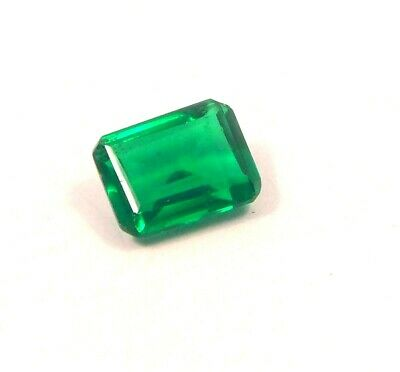 Treated Faceted Emerald Gemstone 19CT 15x11mm RM13930