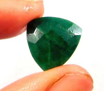 Dyed Faceted Emerald Cut Loose Gemstones 7 CT 12X12mm..  W414