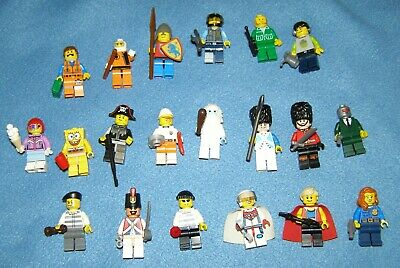 12 ORIGINAL THE Lego Movie Minifigures Minifig Lot includes