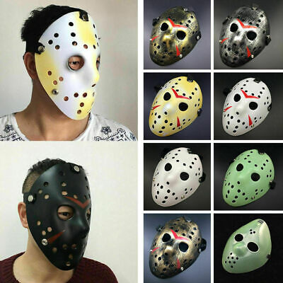 Friday Jason Voorhees Freddy hockey festival party Halloween masquerade mask  GB