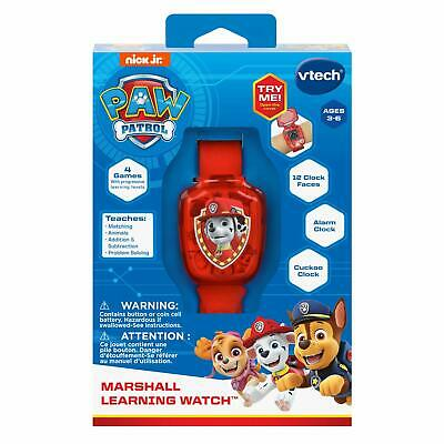 VTECH  Paw Patrol  MARSHALL LEARNING WATCH - New