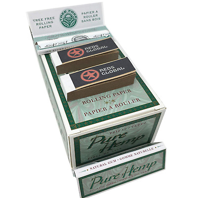 PH Rolling Papers Regular Full Box - 50 Booklets