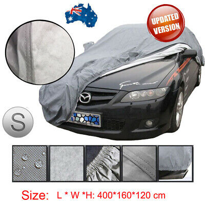 Size 400*160*120cm Car Cover Outdoor Indoor Waterproof UV Dust Protection 3Layer