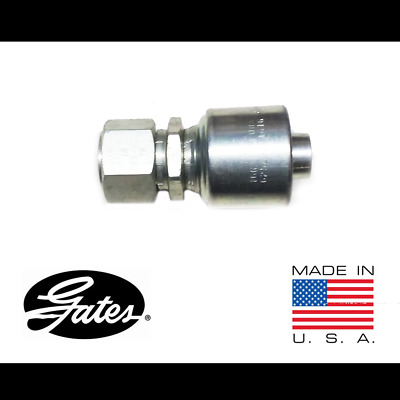 "Gates 16G-16FFORX G25230-1616 MegaCrimp Flat-Face Hydraulic 1"" Hose Fitting"