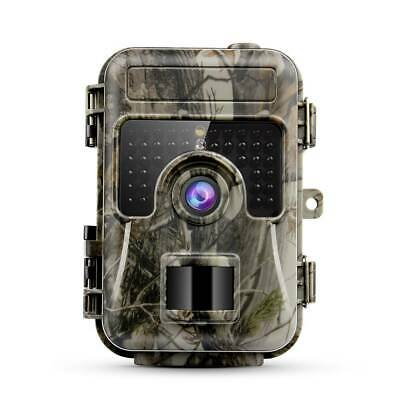 Waterproof 16MP Trail Camera IP66 Outdoor Hunting Cam with IR Led Night Vision