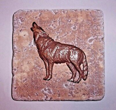 Roman shield plastic travertine tile mold plaster cement casting mould