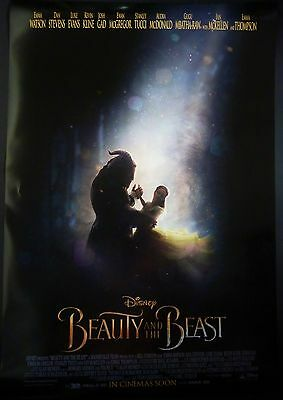 Beauty And The Beast Original 2017 1 Sheet Poster Emma Watson Dan Stevens Disney