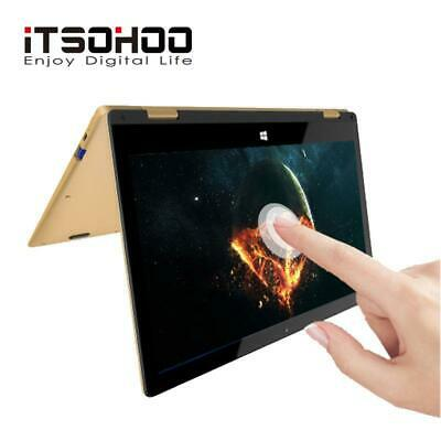 11.6 inch touchscreen convertible tablet laptop iTSOHOO 360 degree rotating lapt
