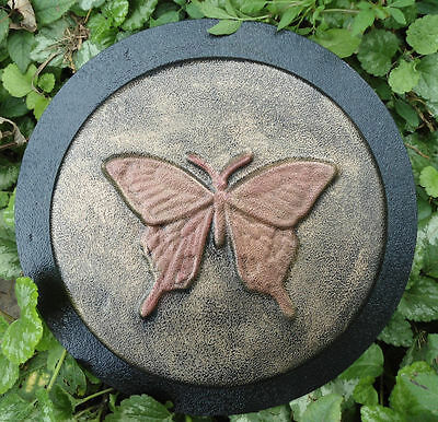 Butterfly stepping stone mold concrete plaster resin casting mould