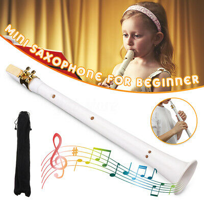 Portable Mini Saxophone Alto Mouthpiece Pocket Instrument Musical Little Sax UK