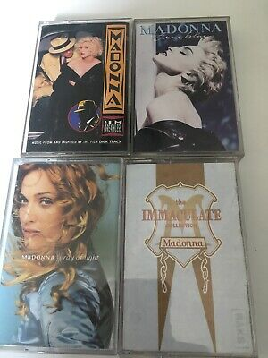 Madonna Cassette Tapes X4 Bundle