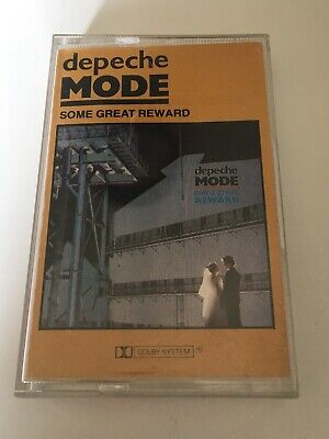 Depeche Mode Some Great Reward Import France Rare Cassette Tape 1984 Mute Record