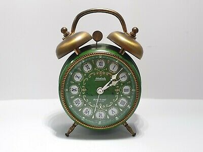 Wehrle Enamel Clock Made In Germany