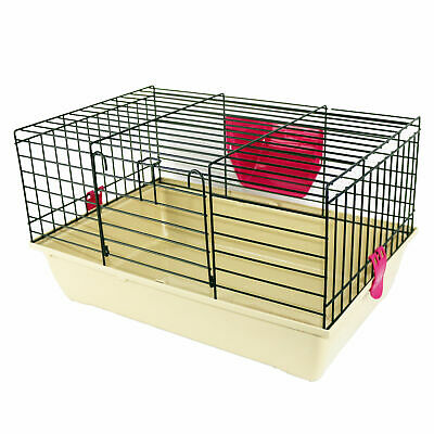Pet Ting Rabbit Cage Guinea Pig Hutch 50cm Indoor Small Animal Home Bunny Pen
