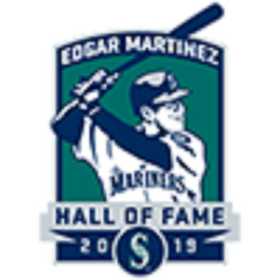 EDGAR MARTINEZ 2019 HALL OF FAME Plaque SEATTLE MARINERS SGA 8/10/19 HOF PRESALE
