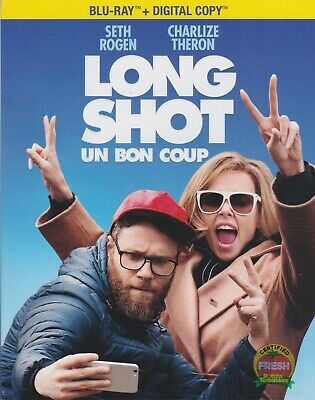 LONG SHOT BLURAY & DIGITAL SET with Seth Rogen & Charlize Theron & Andy Serkis