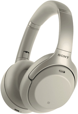 NEW Sony WH1000XM3S Premium Noise Cancelling Wireless Headphones - Silver