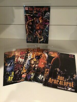 X-MEN: AGE OF APOCALYPSE COMPLETE 6-ISSUE SET, Plus 1 In All 7 Books  BACHALO