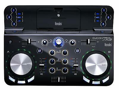 Hercules DJ Control Wave Wireless DJ Controller With Bluetooth Tech for iPad