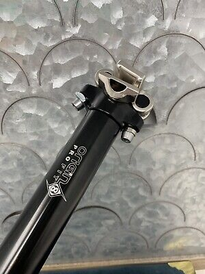 ORIGIN8 BICYCLE BIKE SEATPOST PRO-FIT ALLOY 25.4 400mm SILVER NEW