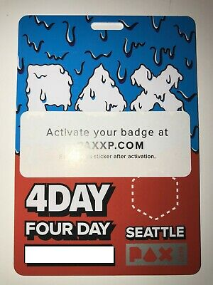 PAX West Prime 2019 4-day badge SOLD OUT Seattle