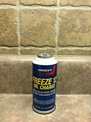 Johnsen's Freeze 12 Refrigerant With Freeze 12 Oil Charge A R12 Replacement x/x