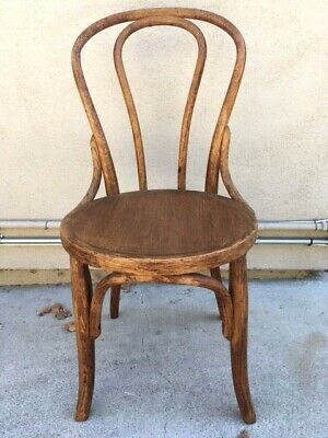 HEYWOOD WAKEFIELD BENTWOOD bistro parlor chair thonet Antique