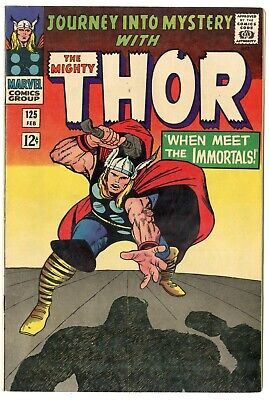 Journey into Mystery #125 VF/NM 9.0 white pages  Thor  Marvel  1966  No Reserve