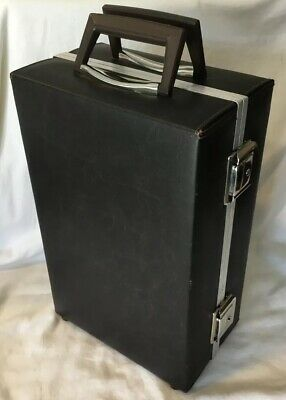 Vintage Service MFG Co. 60 Audio Cassette Tape Holder Carrying Case