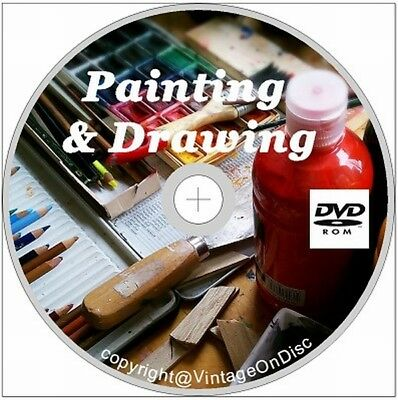 Painting & Drawing 265 rare & Vintage Art Books On DVD Rom