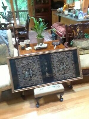 Exceptional Antique Chinese Silk Robe Embroidered Sleeve Panels & Trimming