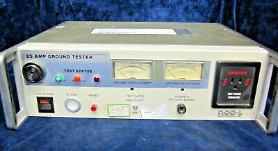 ROD-L Electronics Model 25 Earth Ground Resistance Tester/ Meter (25 Amps)