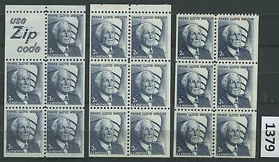 Dealer Dave US Stamps #1280a, 1280c-SHINY & DULL GUM, BOOKLET PANES MNH (1379)