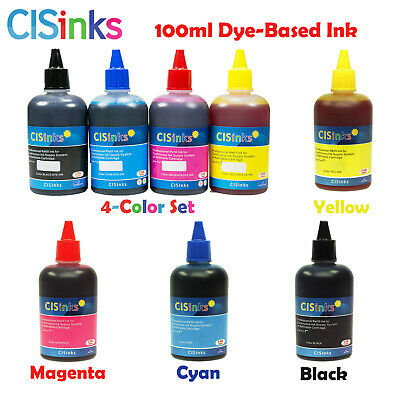 100ml Dye-Based Ink Refill Bottles Epson XP-446 XP-440 XP-430 XP-434 XP340 XP330