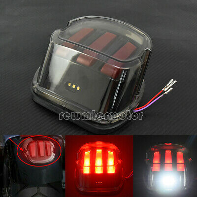 Motorcycle Led DRL Brake Tail Light Fit For Harley Softail Sportster Dyna Fatboy