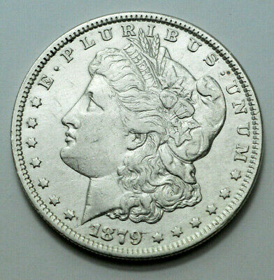 1879-P Morgan Silver Dollar Old US Silver Coin $1.00 Better Date , NO RESERVE.$!