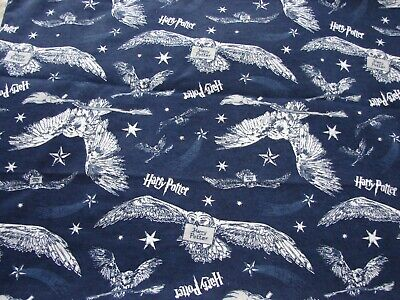 Flannelette Fitted Blue Harry Potter Cot Sheet Handmade