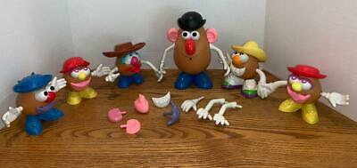 Mr Potato Head Mixed Lot-Spud-Toy Story Woody Hat-Buzz Lightyear Feet-Building T