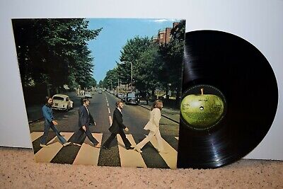 Beatles-Abbey Road-ORIG 1st Pressing UK Apple PCS 7088 LP -2/-1 Misaligned Apple