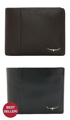 RM Williams Wallet with Coin Pocket - RRP 144.99 - FREE EXPRESS POSTAGE - SALE S