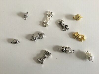 Set Of 10 Magnetic Clasps (8)