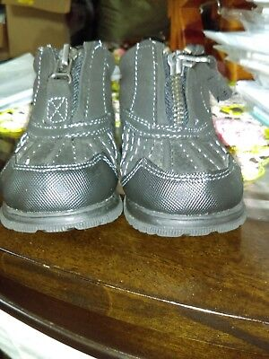 Childrens Place Toddler Boots Black Size 4 Pre-Owned Very Good Condition EUC