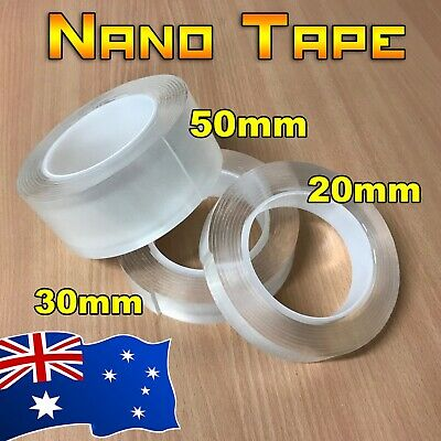 3 Meter Nano Magic Tape Transparent Traceless Double Sided Adhesive Washable
